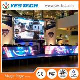 Полноцветный светодиодный экран по периметру снаружи рекламы