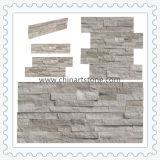 Lei van de Steen van de Cultuur van de aard de Witte Houten Marmeren voor de Decoratie van de Muur