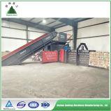 Nueva máquina horizontal hidráulica de la prensa del papel usado 2017 para la venta
