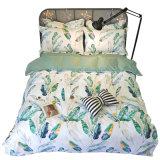 女の子のためのポリエステル線維の印刷の寝具