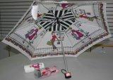 4-vouwend Paraplu