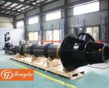Длинный вал электрический вертикальный турбины обезвоживания насоса