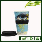 Los logotipos personalizados taza de café de Biodegradable reutilizable con silicona
