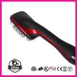 Dispositivo di ceramica Heated di bellezza di modo dell'essiccatore della spazzola di capelli del pettine dei capelli diritti della spazzola del raddrizzatore dei capelli con vento caldo