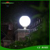 中庭のゲートの屋外の装飾的なランプのリモート・コントロール太陽庭の柱ライト