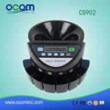 CS902 자동적인 Euro/USD/Mexico/Isreal/Comlunbia 동전 카운터 분류하는 사람 기계