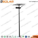 De 8 metros de brazo simple poste de iluminación LED Luz solar calle