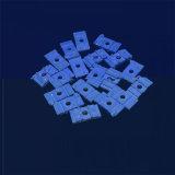 Strato di ceramica Splashback della porcellana dell'allumina di ceramica tecnica blu dell'isolamento Al2O3