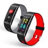F10 Sport el sueño de la presión arterial monitor de ritmo cardíaco recordatorio sedentarios Pulsera inteligente Fitness