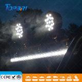 """7 """" indicatori luminosi di azionamento di funzionamento fuori strada ausiliarii di 51W LED 4X4"""