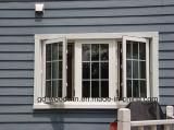 Finestra termica di Castment dell'alluminio di serie 65 della rottura con doppio vetro