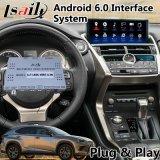 Sistema di percorso di GPS dell'interfaccia del video del Android 6.0 per Lexus nuovo Nx 300 2017-2019 con il Touchpad