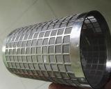 Filtro perfurada tubos fabricados com orifícios ovais.