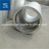 Ronde anodisé forgé à paroi épaisse de grand diamètre tube en aluminium