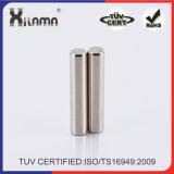 Постоянный цилиндр с неодимовым магнитом больших магнитов для продаж
