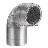 Алюминий хорошо проветриваемом помещении Non-Insulated гибких воздуховодов
