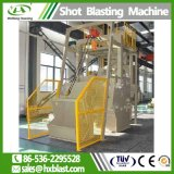 Гусеничный ISO Huaxing дробеструйная очистка машины, используемые для литейного производства тормозных колодок на заводе дробеструйная очистка машины