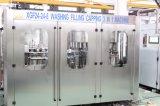 Máquina de enchimento automático com garrafa de rotulação de estanqueidade da linha de embalagem