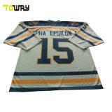 Sublimación completo personalizado Camiseta de Hockey sobre hielo para el desgaste del equipo