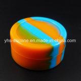 Comercio al por mayor de silicona de colores mezclados 22ml frasco de aceite de hierba de cera de tabaco para fumar Accesorios