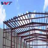 Bastidor de metal galvanizado diseñado ecológica Estructura de acero de la luz de almacén taller