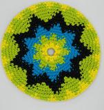 Crochet tricoté main Frisbee, Indoor Flying Disc, crochet Flying Frisbee