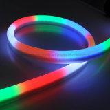 卸し業者12V LEDのネオンライトRGB 60LED/MのIP68ネオンLEDの屈曲の滑走路端燈