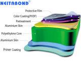 3 mm de espessura do painel composto de alumínio para impressão UV
