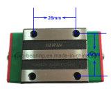 Fabbrica lineare lineare eccellente del binario di guida del cuscinetto HGH25ca Hgw25cc del blocchetto dell'onere gravoso