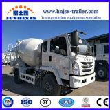 Dongfengの具体的なミキサー6/8/9のM3セメントのドラムミキサーのトラック