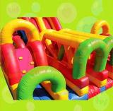 子供および大人のための膨脹可能な障害ゲーム