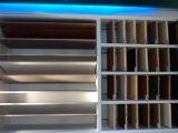 Rode MDF van het Gezicht Sapelli, kleurt Nr.: 852, Grootte 120X2440mm, Dikte: als Uw Orde, Lijm: E0, Rood Sapelli Document MDF, MDF van de Melamine