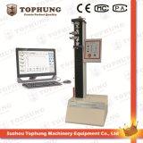 Máquina de prueba extensible material de la cáscara de los zapatos económicos del microordenador (TH-8202A)
