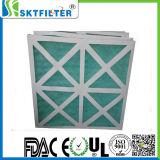Del Nonwoven filtro de aire pre con el capítulo de papel para industrial