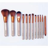 kit profesional del cepillo del maquillaje Naked3 del oro 12PCS con precio al por mayor