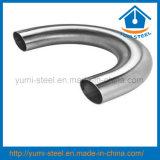 Les mesures sanitaires en acier inoxydable Raccords coudés du tuyau de 180 degrés
