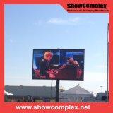 P10 alto video schermo di luminosità LED per la pubblicità esterna