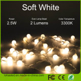 USB Waterproof Warm White LED String Light para Chirstmas