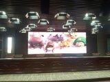 Mur polychrome d'intérieur de vidéo numérique de la qualité P4mm DEL