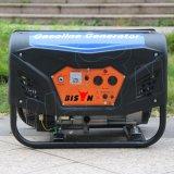 Portable del alambre de cobre del bisonte (China) BS3500g 2.8kw 2.8kVA pequeño 60 hertzios de la gasolina del generador de uso del hogar