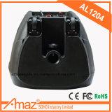 무선 Mic를 가진 액티브한 유형 PA 재충전용 옥외 휴대용 트롤리 증폭기 스피커