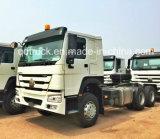 Vrachtwagens van de Tractor van de Vrachtwagens van de Lading van de Vrachtwagens van de Stortplaats van China HOWO de Op zwaar werk berekende