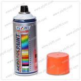 Pintura de aerosol brillante colorida fluorescente de aerosol