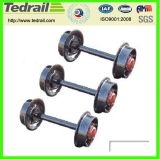 機関車でインストールされる高品質の車輪セット