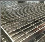 Plaque discordante soudée par plancher galvanisée plongée chaude de passerelle d'usine