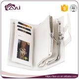 Польза RFID женщин конструкции Fani 2017 новая преграждая кожаный бумажник