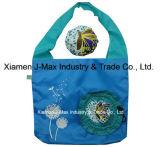 El bolso de compras plegable de los regalos florece estilo, bolsos reutilizables, ligeros, de tienda de comestibles y práctico, los accesorios y decoración, promoción, bolsos de totalizador
