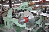 L'acier de refendage de bobine hydraulique et de rembobinage de la ligne de cisaille