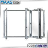 Starke Doppelverglasung-Aluminiumbi-Falz-Tür für Australien-Markt