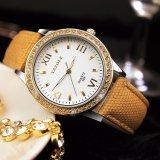Yazole 359명의 호화스러운 여자 손목시계 유리 훈장 상자 아름다운 숙녀 시계